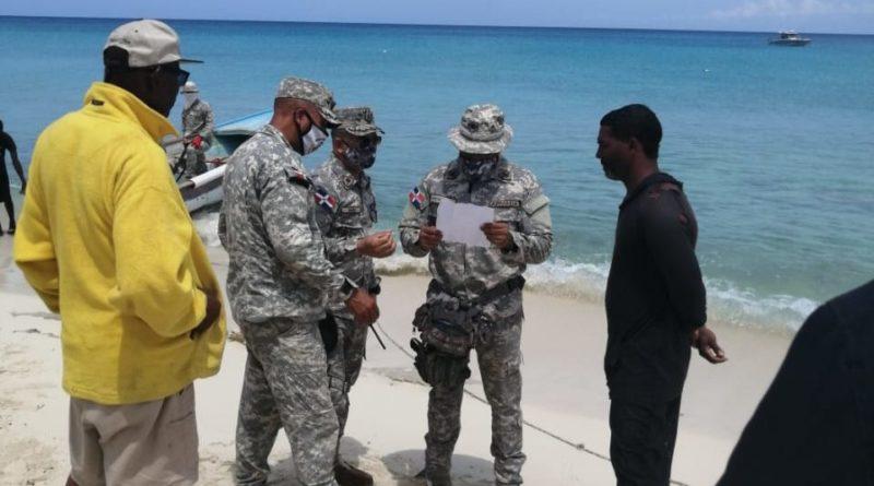 ARD, efectuó amplio operativo marítimo y terrestre en la provincia de pedernales.