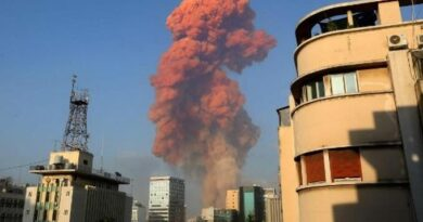Fuerte explosión en un almacén de la zona del puerto de Beirut