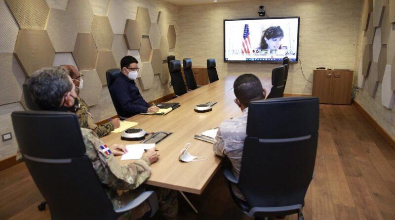 Díaz Morfa y Embajadora EE UU realizan reunión virtual