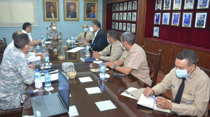 Comandante general de la ARD, sostiene tercera reunión de coordinación con el Ministerio de medio A.