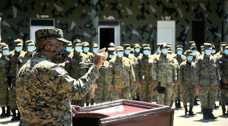 Comandante General Del ERD Realiza Recorrido En El Suroeste del país
