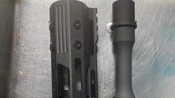 Ministerio de Defensa incauta cañón y culata de fusil que intentaban introducir al país