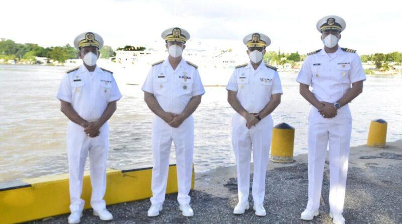 """ARD, Realizó el acto de despedida del crucero de instrucción para guardiamarinas de la academia naval """"otoño 2020""""."""